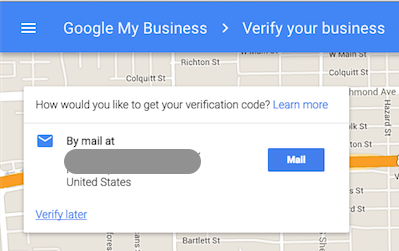 Verify Your Address